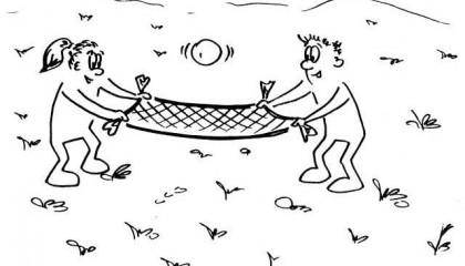 Šátkový volejbal