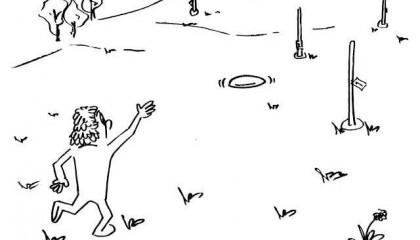 Golf s kroužkem